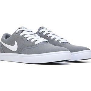 🆕 Nike Solar Soft Grey Canvas Lace Sneakers